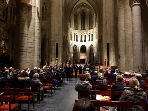 Lietuviškos Kalėdinės dainos Briuselio Šv. Mišelio ir Gudulės katedroje 2019 m.