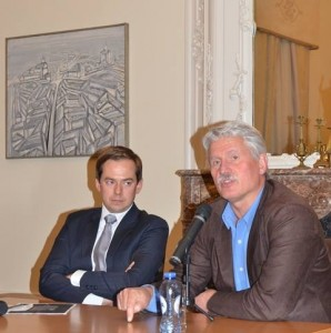 Susitikimas-diskusija su prof. Egidijumi Aleksandravičiumi (2014 m. spalis)