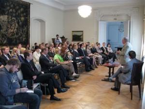 Debatų klubas su prof. V. Landsbergiu (2009 m.)