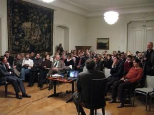 II-asis Briuselio debatų klubas - prof. L.Donskis (2009 m.)