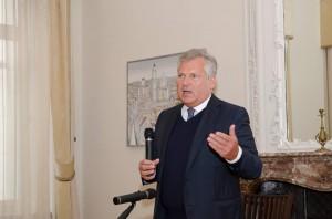 Briuselio debatų klubo diskusija apie Lenkijos-Lietuvos santykius bei bendrus iššūkius Rytų kaimynystėje su buvusiu Lenkijos Prezidentu Aleksander Kwaśniewski (2013 m.  spalis)