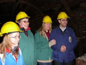 Ekskursija į buvusią Blegny anglių kasyklą 2007 m.