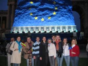 Brussels EU enlargement celebration 2004 m.