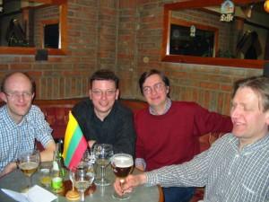 Susitikimai kavinėje Leffe 2004 m.