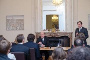 """Briuselio debatų klubo diskusija su Seimo opozicijos lyderiu Andriumi Kubiliumi tema """"Lietuvos energetinė nepriklausomybė: misija neįmanoma?"""" (2013 m. kovas)"""