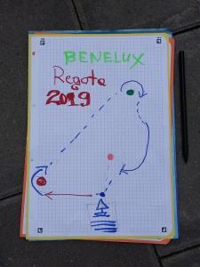 BeNeLux2019 regata 02 start 06 Gintaras Marijauskas